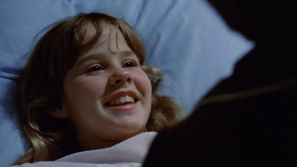 Linda Blair in the Peculiar Facts About The Exorcist Movie