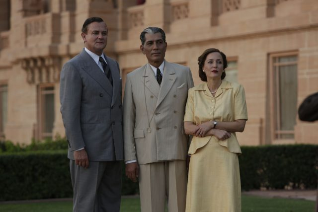 Lord Mountbatten along with his wife in India Pakistan Partition Movies