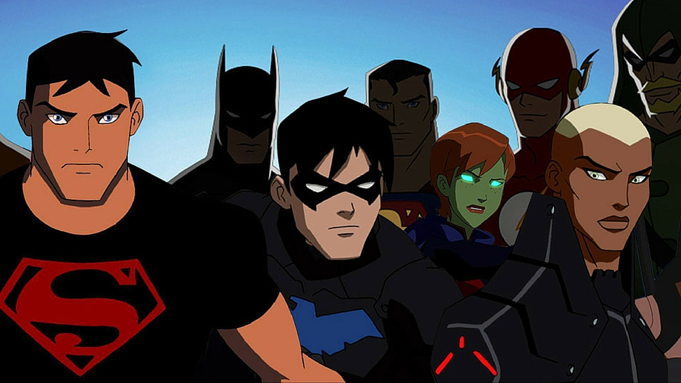 Young justice netflix series in hindi dubbed