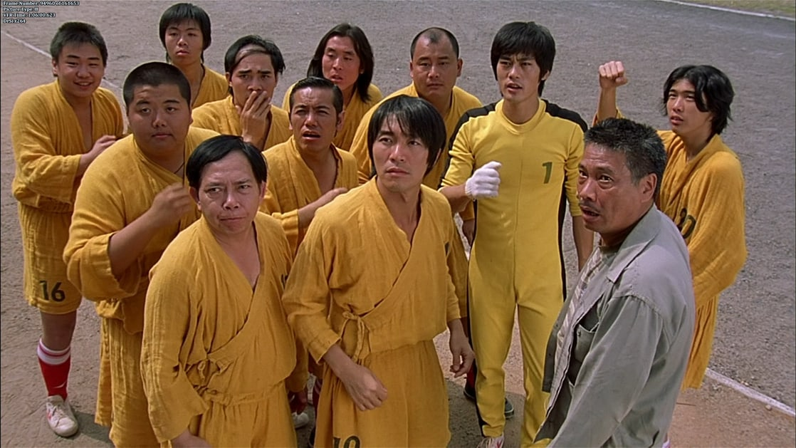 Movie based on Kung fu soccer , Shaolin Soccer