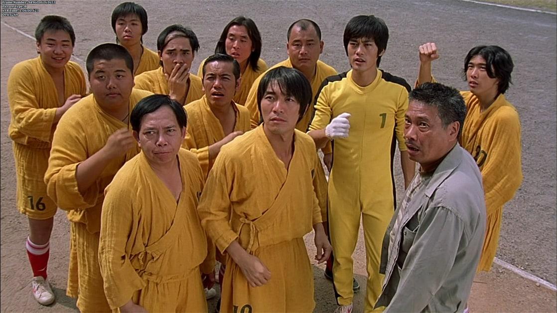 Movie based on Kung fu soccer , Shaolin Soccer