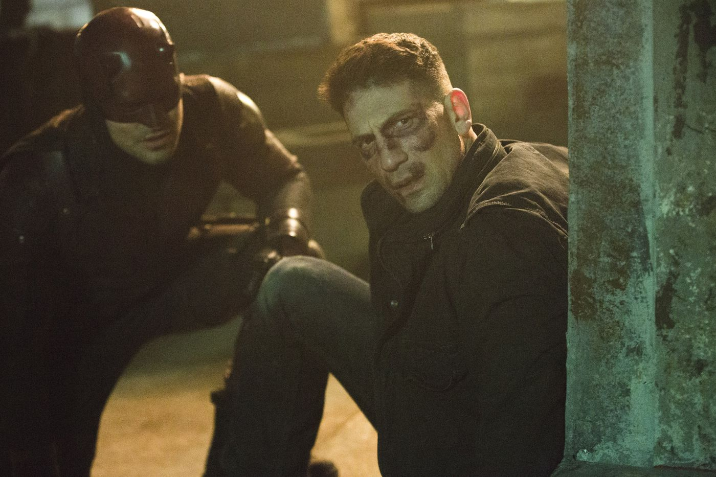 The Punisher vs Daredevil