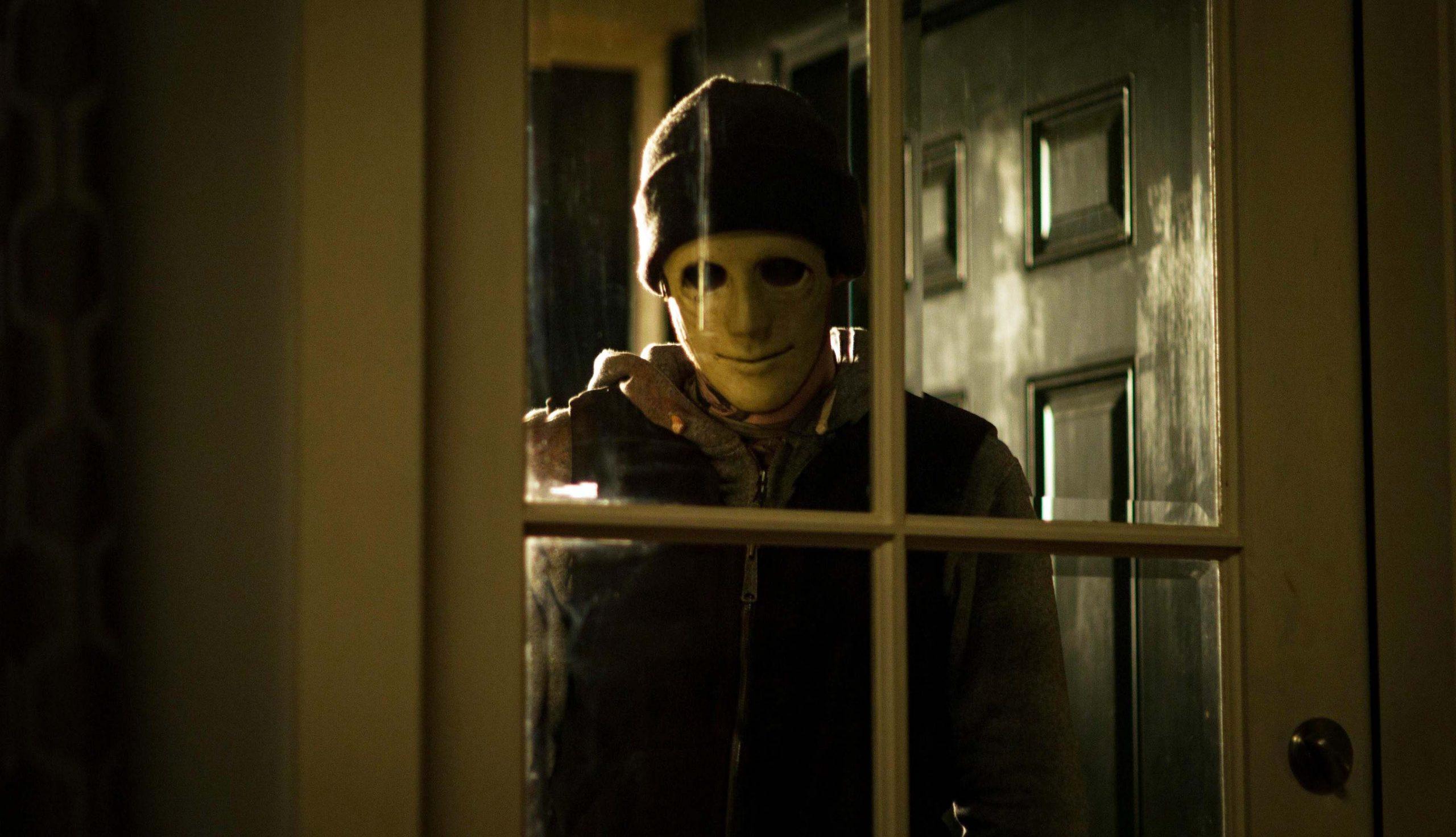 Killer in Hush movie.
