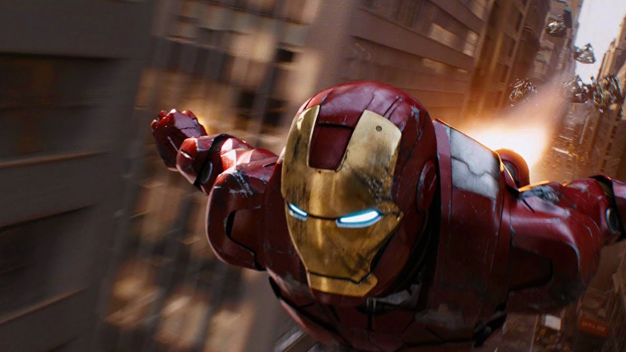 Iron Man shows the growth a Virtual Reality (one of the branch related to Softwares)
