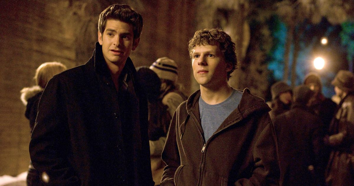 The Social Network depicts the history of Facebook. Another masterpiece for Software Engineers and Developers