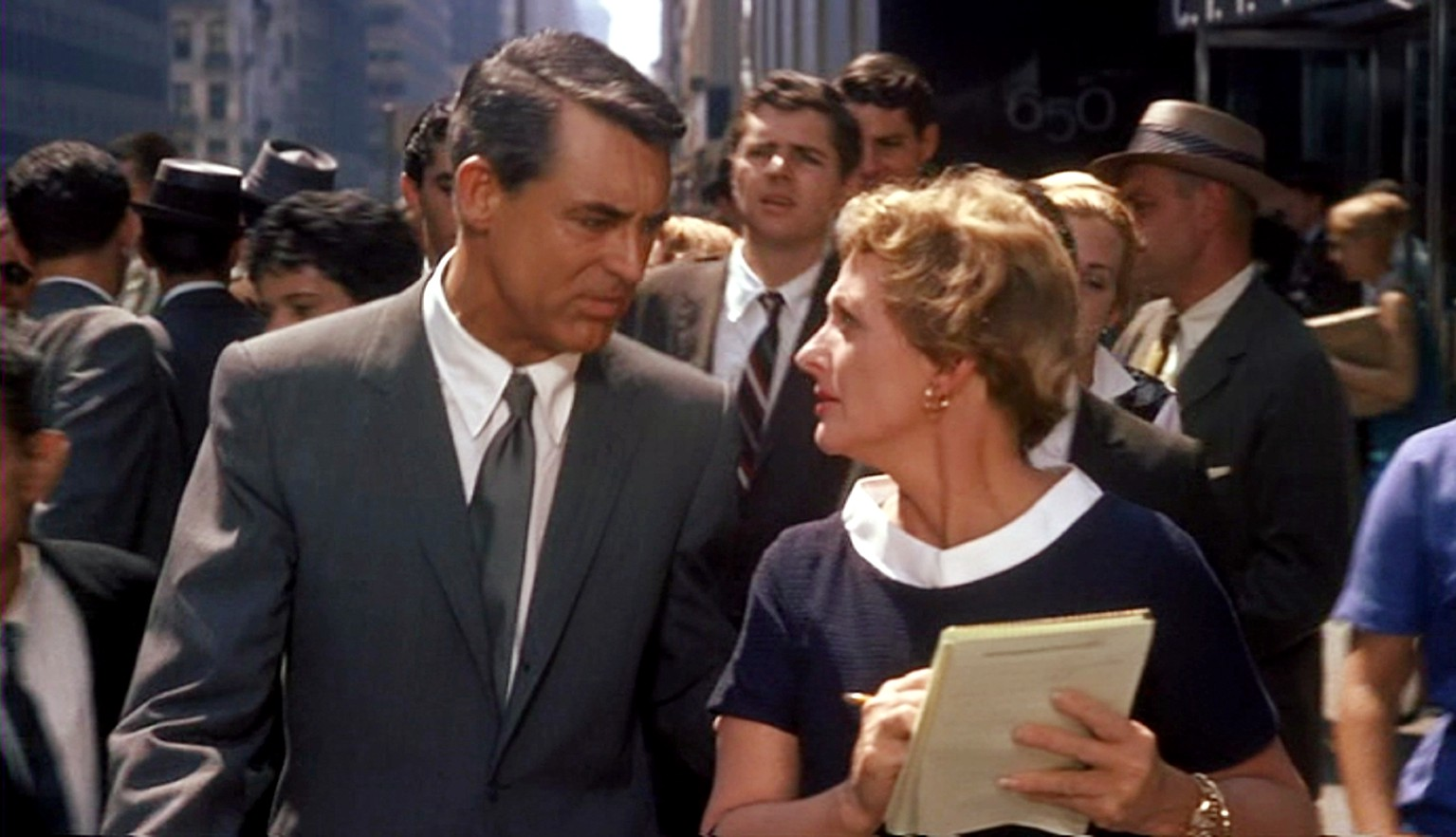 Busy Street of NewYork in North By Northwest