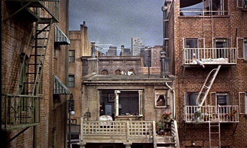Hitchock Rear Window Film